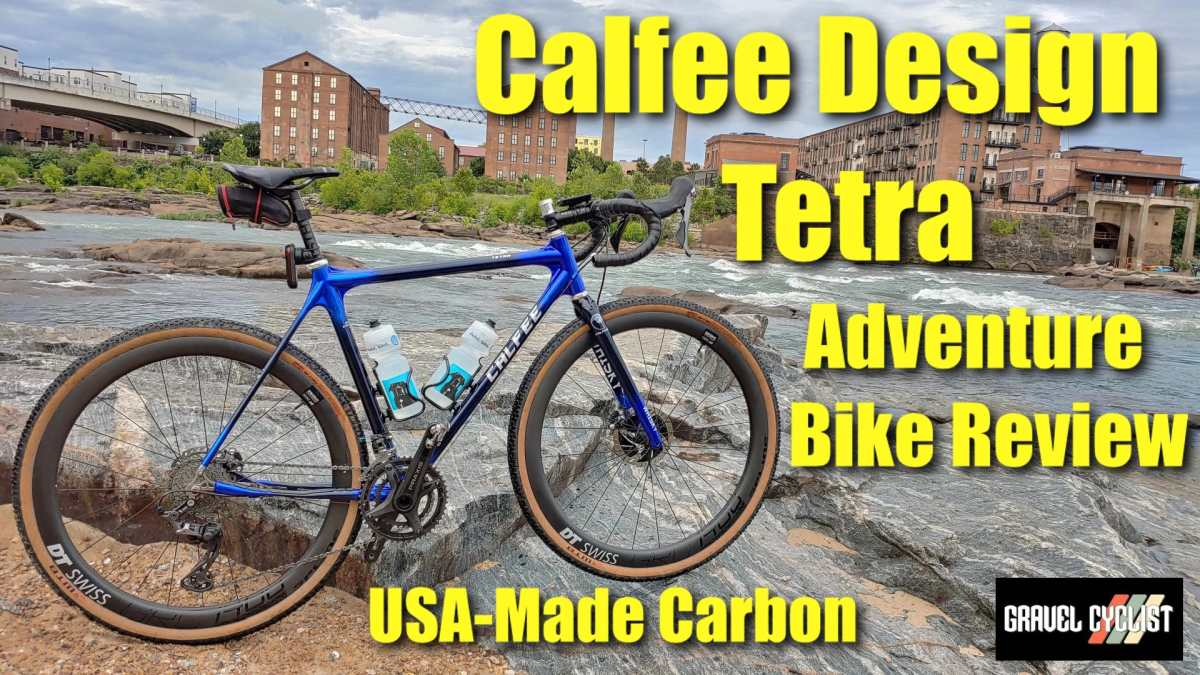 calfee design tetra adventure bike review