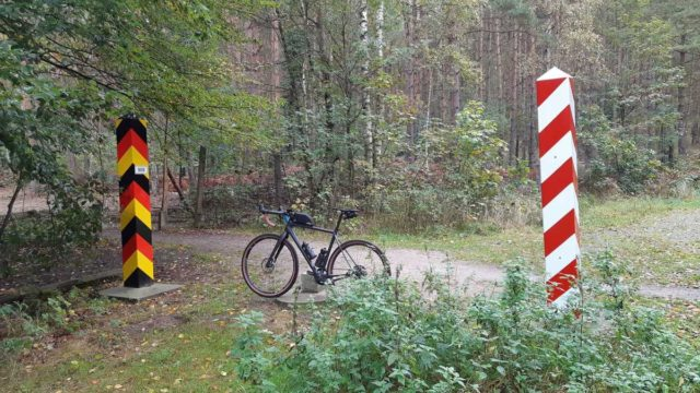 gravel cycling on the island of usedom