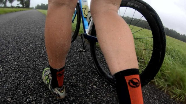 tubeless gravel tire fail