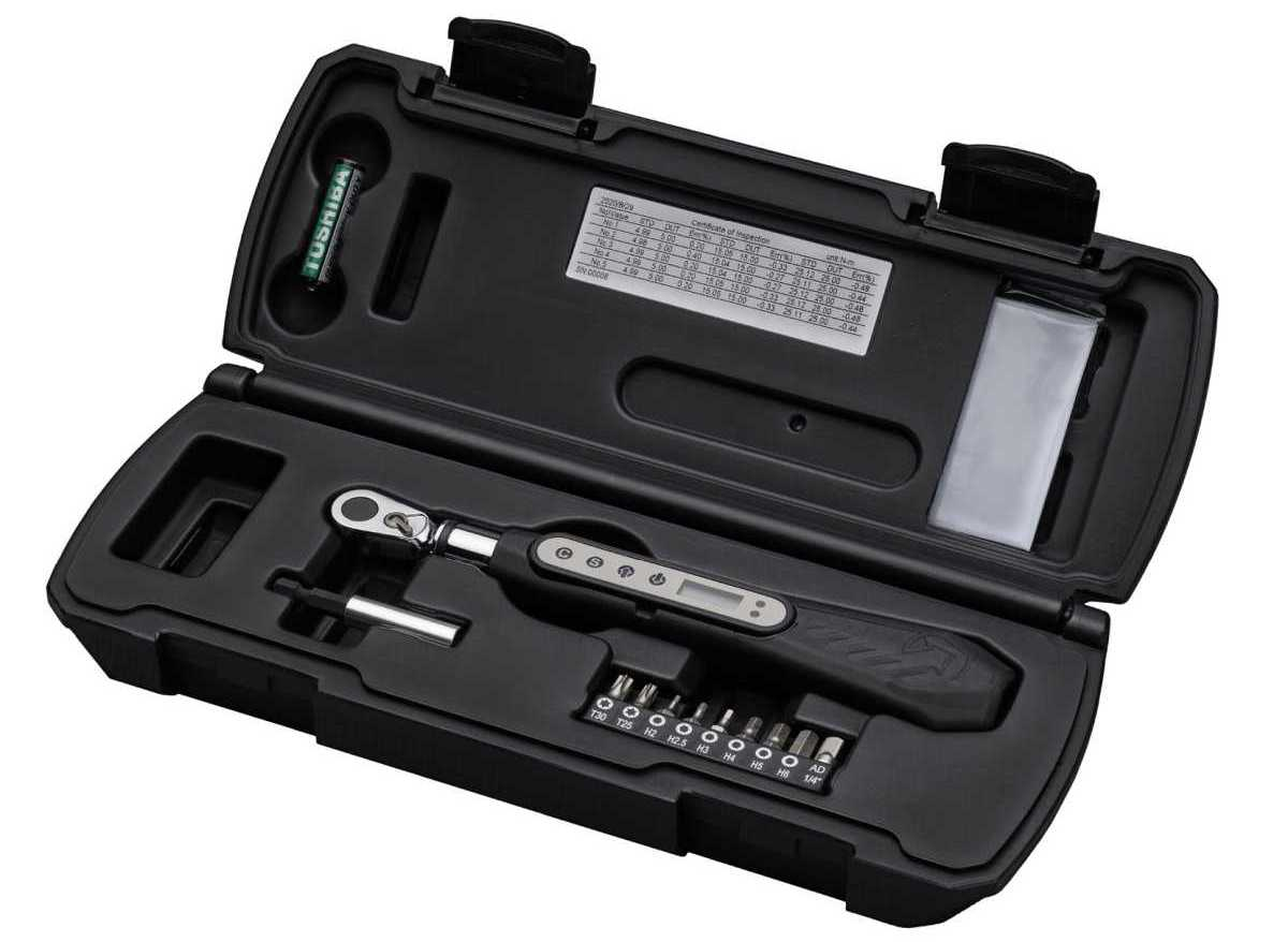 shimano pro Team Digital Torque Wrench review