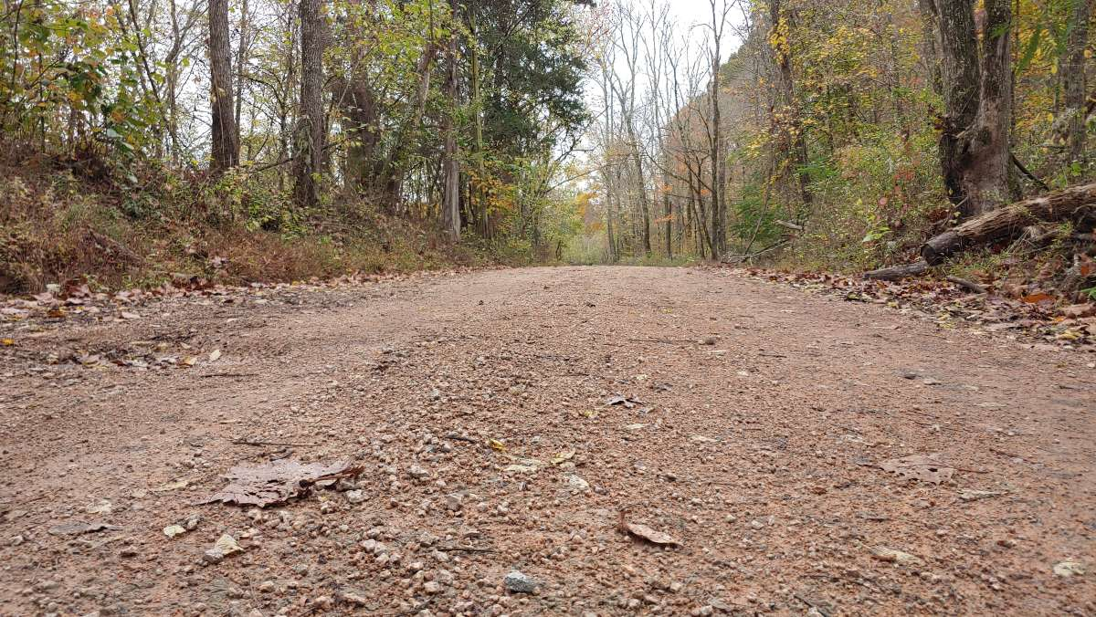 hickman county gravel cycling