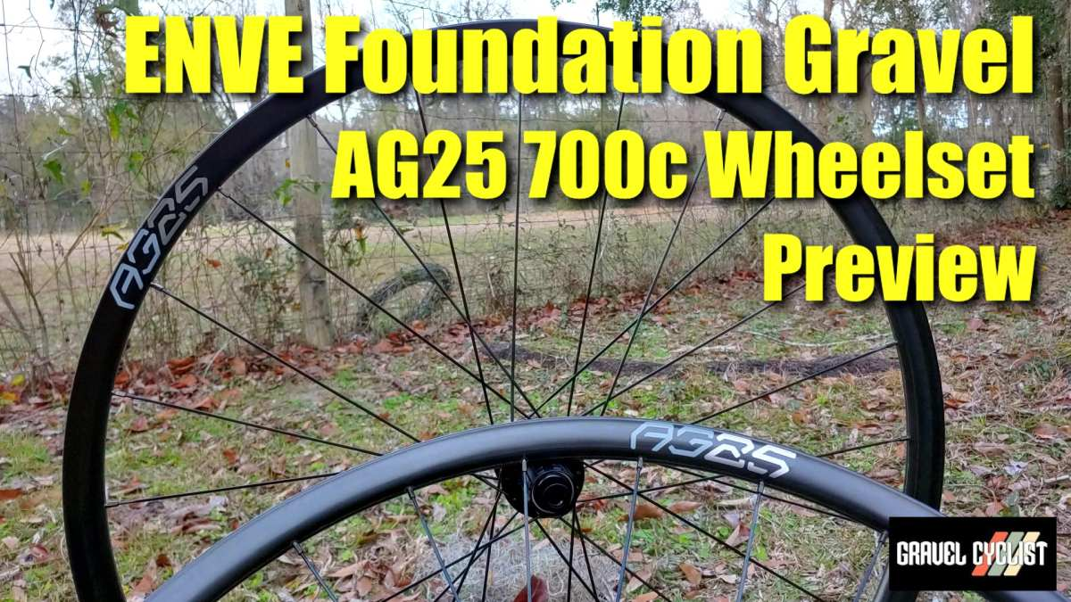 enve foundation gravel ag25 review