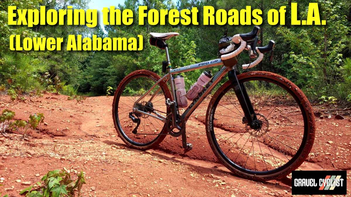 exploring lower alabama by bicycle