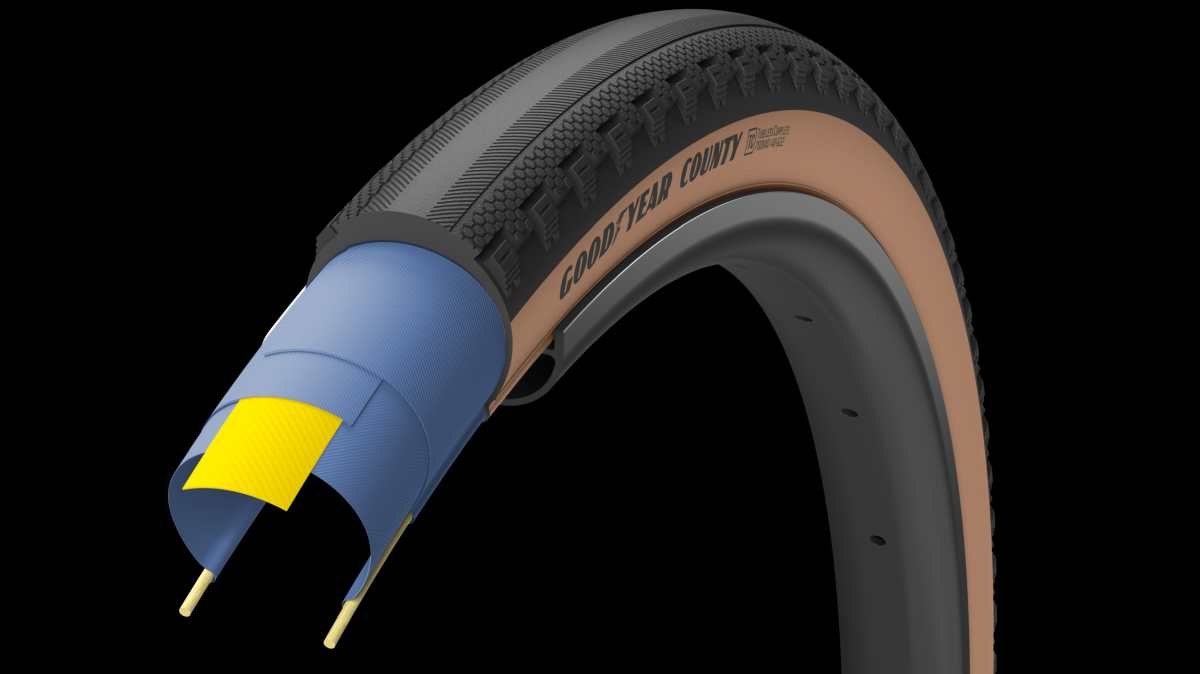 goodyear county tan tire review