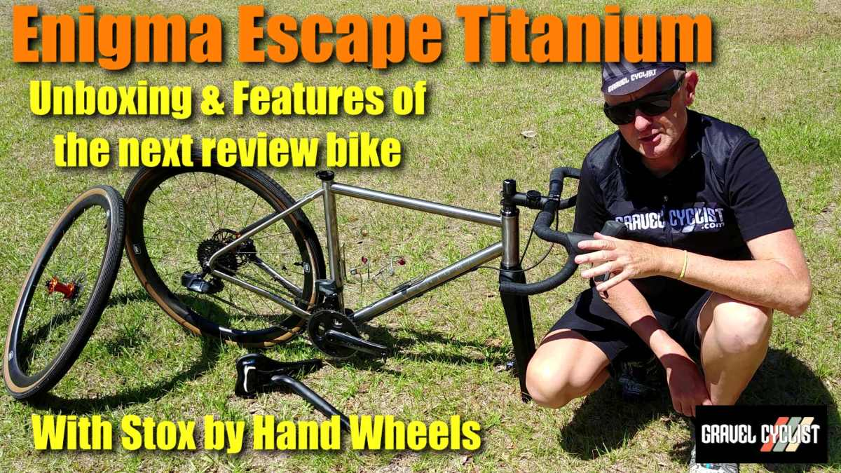 enigma escape titanium gravel bike review
