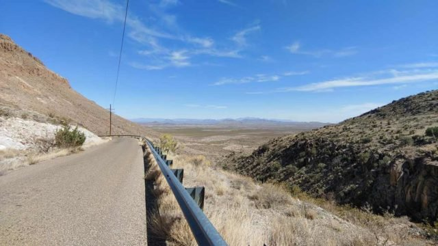 cycling the organ mountains new mexico