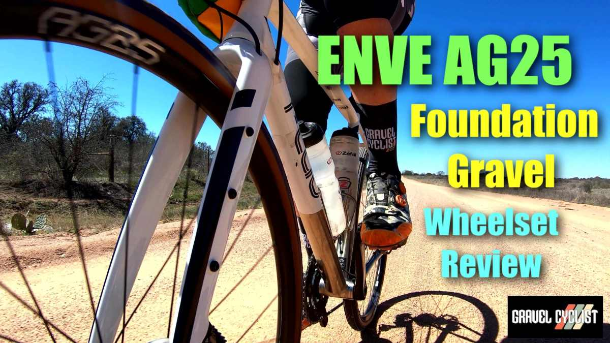 ENVE ag25 foundation gravel wheelset review