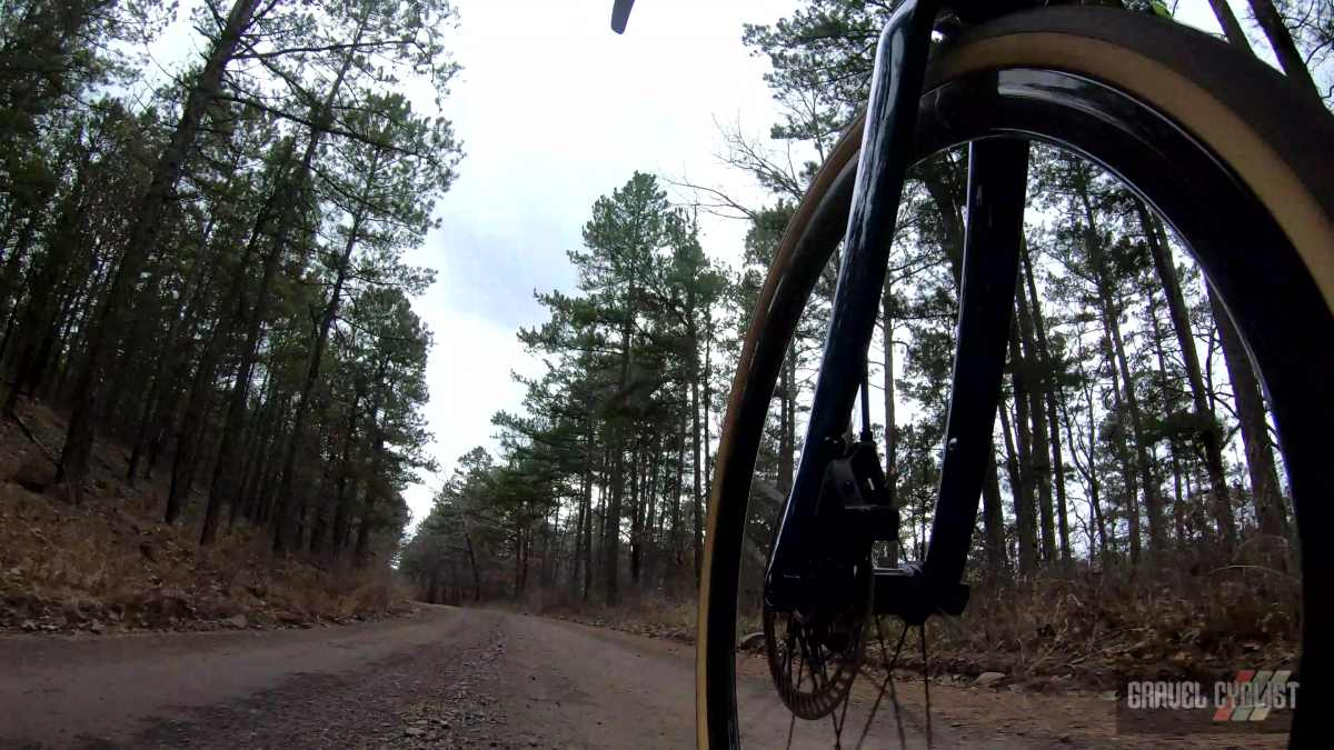 cycling in ouachita national forest