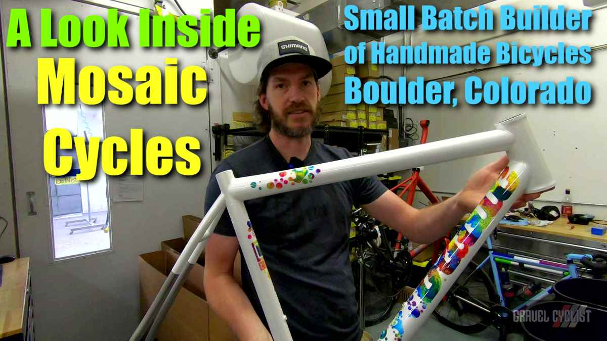 mosaic cycles factory tour video