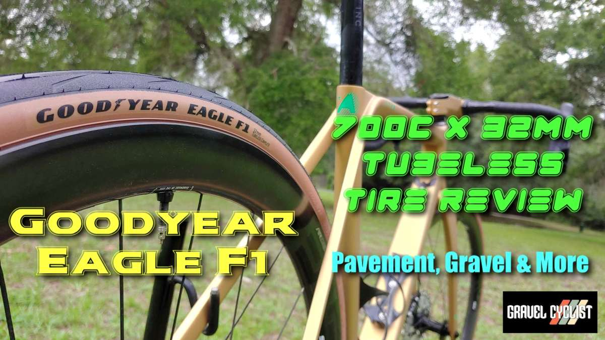 Goodyear Eagle F1 Tubeless Bicycle Tire Review