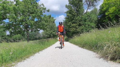 gravel cycling in the saarland germany